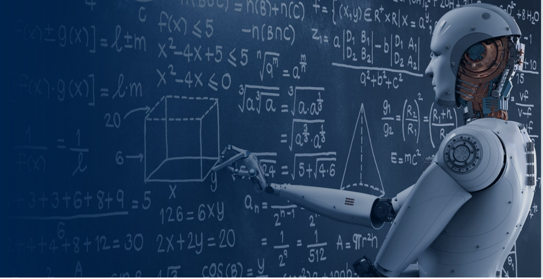 Robot Writing on Chalkboard